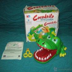 Juegos de mesa: JUEGO CROCODILO NO DENTESTA DE MB. Lote 53515953