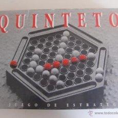 Juegos de mesa: JUEGO DE MESA QUINTETO / CEFA / COMPLETO. Lote 53525019