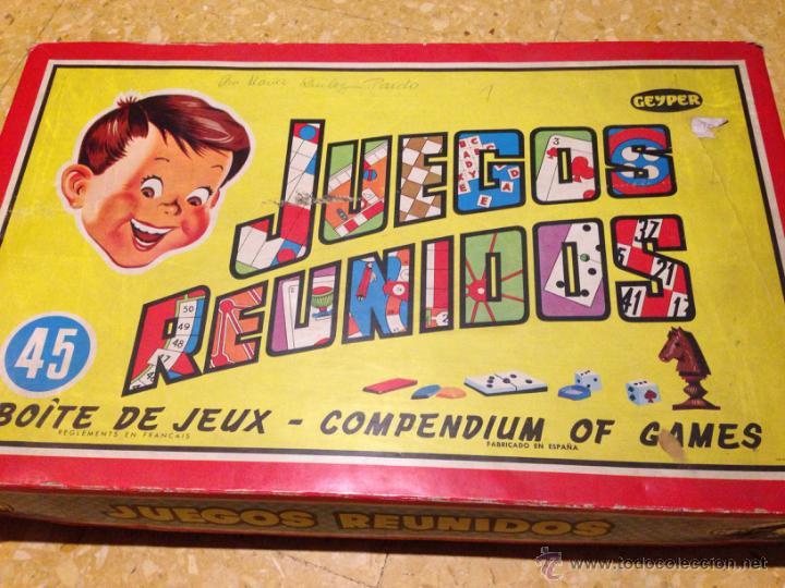 Gran Caja Juegos Reunidos Geyper 45 Juegos Anos Comprar Juegos De
