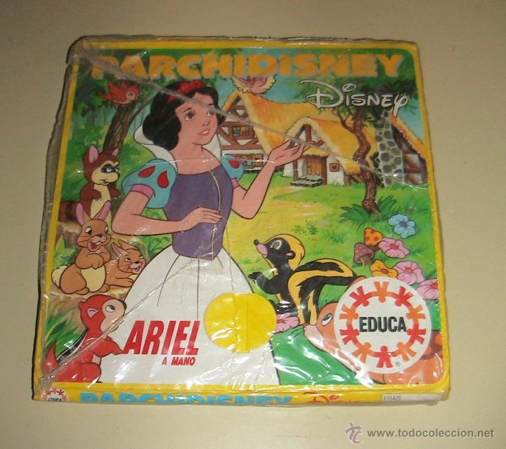 Parchis Parchidisney Antiguo Ariel Walt Disney Comprar Juegos De