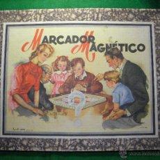 Juegos de mesa: JUEGO MARCADOR MAGNETICO DE BORRAS. Lote 53613192