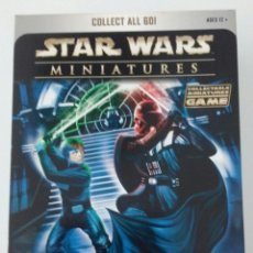 Juegos de mesa: STAR WARS MINIATURES REBEL STORM STARTER SET (WIZARDS OF THE COAST,2004). Lote 53634469