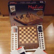 Juegos de mesa: COMPUTADORA DE AJEDREZ - MEPHISTO ACADEMY - CHESS COMPUTER. Lote 71056899