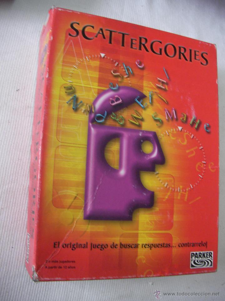 JUEGO SCATTERGORIES (Juguetes - Juegos - Juegos de Mesa)
