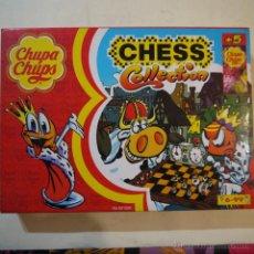 Juegos de mesa: AJEDREZ CHUPA-CHUPS - CHESS COLLECTION. Lote 53705271