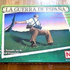 Juegos de mesa: JUEGO WARGAME NAC LA GUERRA DE ESPAÑA - GUERRA CIVIL ESPAÑOLA - 1987 - 100% SIN DESTROQUELAR. Lote 53725773