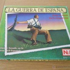 Juegos de mesa: JUEGO WARGAME NAC LA GUERRA DE ESPAÑA - GUERRA CIVIL ESPAÑOLA - 1987 - COMPLETO. Lote 53744864