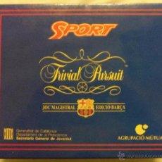 Juegos de mesa: JUEGO DE MESA TRIVIAL PURSUIT DEL BARÇA - CATALAN 1995 -VER TODAS LAS FOTOS. Lote 53752460