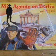 Juegos de mesa: JUEGO DE MESA NAC - MI AGENTE EN BERLÍN - 1984 - SERIE TEMÁTICOS REF. 107 - COMPLETO. Lote 53779565