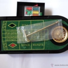 Juegos de mesa: MINI MESA RULETA DE CASINO - ORIGINAL MINI ROULETTE. Lote 53819584