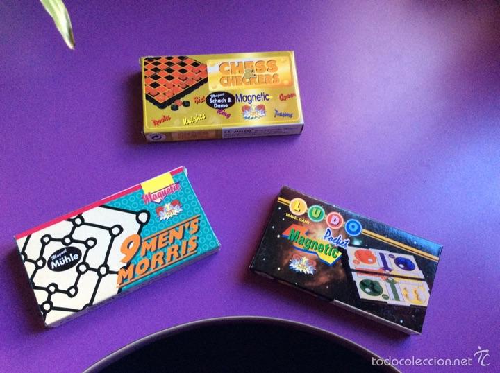 3 Juegos De Viaje Mini Comprar Juegos De Mesa Antiguos En