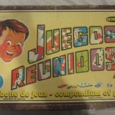 Juegos de mesa: JUEGOS REUNIDOS GEYPER. Lote 53842118