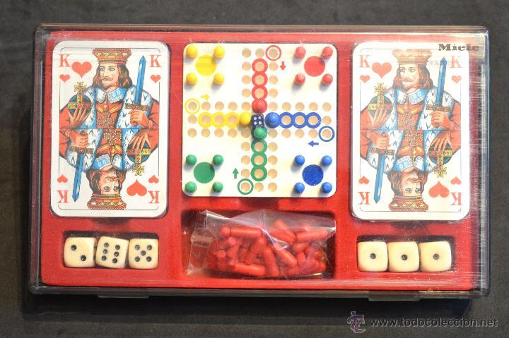 SET ESTUCHE JUEGO MINIPLAY SPIELEMAGAZIN MIELE NUEVO SIN USO (Juguetes - Juegos - Juegos de Mesa)