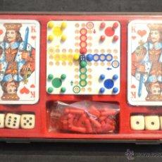 Juegos de mesa: SET ESTUCHE JUEGO MINIPLAY SPIELEMAGAZIN MIELE NUEVO SIN USO. Lote 53866121
