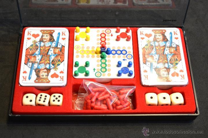 Juegos de mesa: SET ESTUCHE JUEGO MINIPLAY SPIELEMAGAZIN MIELE NUEVO SIN USO - Foto 3 - 53866121