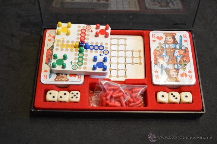 Juegos de mesa: SET ESTUCHE JUEGO MINIPLAY SPIELEMAGAZIN MIELE NUEVO SIN USO - Foto 4 - 53866121