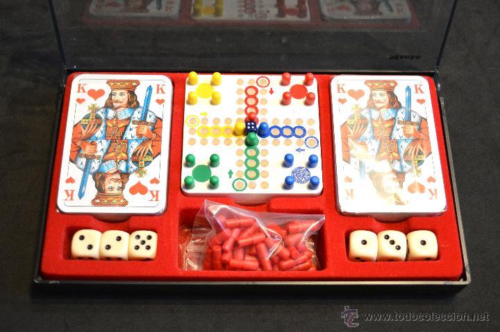 Juegos de mesa: SET ESTUCHE JUEGO MINIPLAY SPIELEMAGAZIN MIELE NUEVO SIN USO - Foto 6 - 53866121