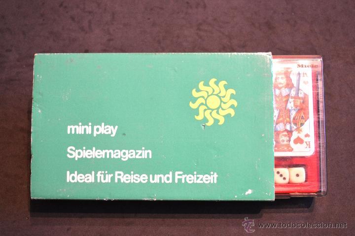Juegos de mesa: SET ESTUCHE JUEGO MINIPLAY SPIELEMAGAZIN MIELE NUEVO SIN USO - Foto 11 - 53866121