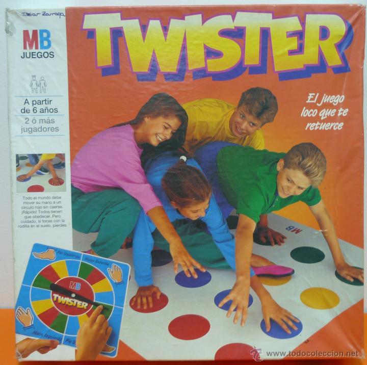 Twister Mb Juegos Completo Anos 80 Comprar Juegos De Mesa