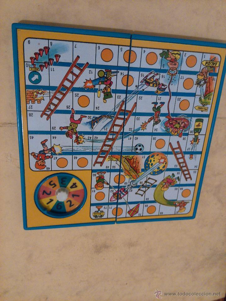 La oca peque o juego plegable con dado tipo comprar juegos de mesa antiguos en - La oca juego de mesa ...
