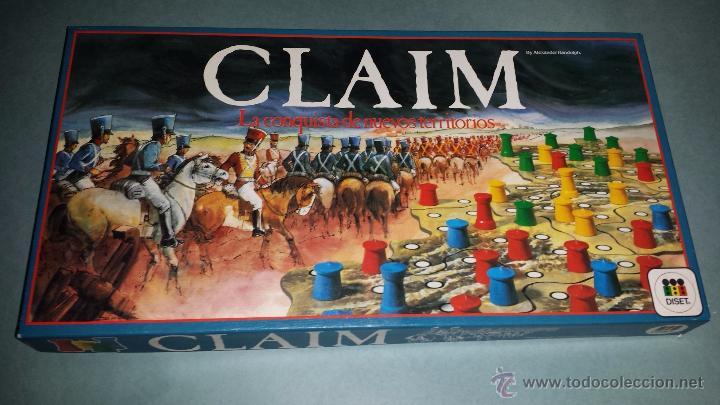 Juego Claim De Diset En Caja Tipo Risk A E Comprar Juegos De