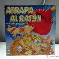 Juegos de mesa: ATRAPA AL RATON - COMPLETO - MATTEL - REF. 6082 . Lote 53978640