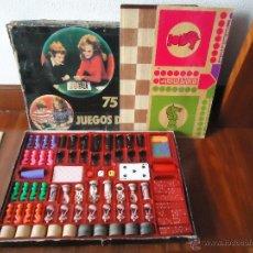 Juegos de mesa: JUEGOS REUNIDOS GRAINES CEJI POKER DOMINO PARCHIS DAMAS AJEDREZ DADOS CARTAS NAIPES JUGUETE. Lote 54025335