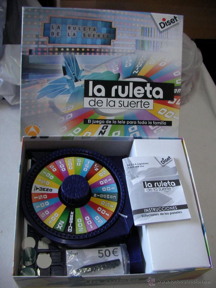 Juego La Ruleta De La Suerte Comprar Juegos De Mesa Antiguos En