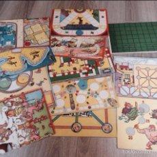 Juegos de mesa: TABLERO JUEGOS REUNIDOS. Lote 54182766