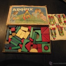 Juegos de mesa: ARQUIX CONSTRUCCIONES AÑOS 40-50, ARQUITECTURA. Lote 54230078