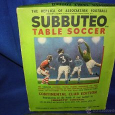 Juegos de mesa: JUEGO DE MESA SUBBUTEO TABLE SOCCER. Lote 54232035