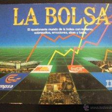 Juegos de mesa: LA BOLSA. EDUCA. 1989. MUY BUEN ESTADO. Lote 148195617