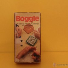 Juegos de mesa: JUEGO DE MESA BOGGLE - DE BORRAS - AÑOS 80 - COMPLETO. Lote 54323221