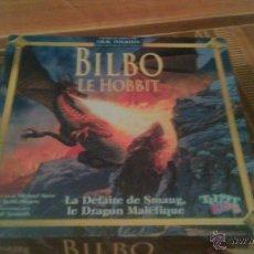 Juegos de mesa: JUEGO BILBO LE HOBBIT LA DÉFAITE DE SMAUG LE DRAGON MALÉFIQUE. TILSIT KIDS 2001.FRANCES. Lote 54378289
