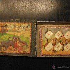 Juegos de mesa: LOTERIA MULTIPLICADORA BORRAS AÑOS 50. Lote 54407329