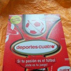 Juegos de mesa: JUEGO DEPORTES CUATRO FUTBOL FAMOSA. Lote 54427189