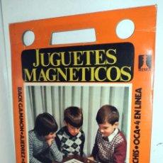 Juegos de mesa: ANTIGUO JUGUETE RIMA AJEDREZ JUGUETES MAGNÉTICOS - GRAN FORMATO 28 X 36 CM . Lote 54433469
