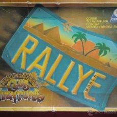 Juegos de mesa: JUEGO DE MESA RALLYE WORLD (1989) DE CEFA. COMPLETO.. Lote 54470329