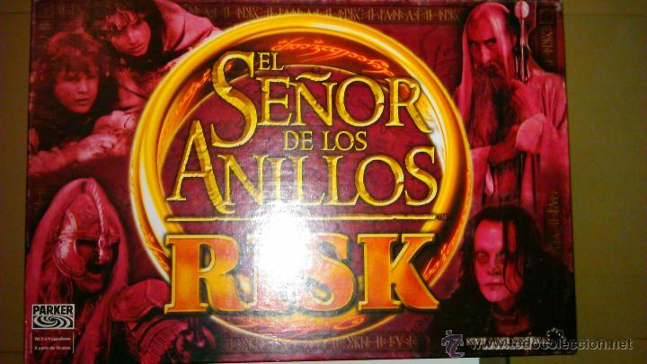 JUEGO RISK EL SEÑOR DE LOS ANILLOS (Juguetes - Juegos - Juegos de Mesa)