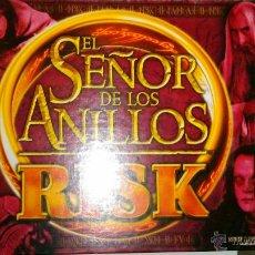 Juegos de mesa: JUEGO RISK EL SEÑOR DE LOS ANILLOS. Lote 54482275