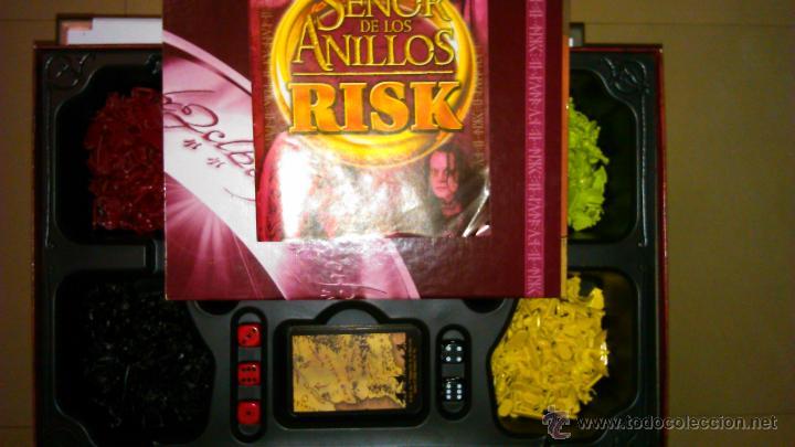 Juegos de mesa: Juego Risk El Señor de los Anillos - Foto 2 - 54482275