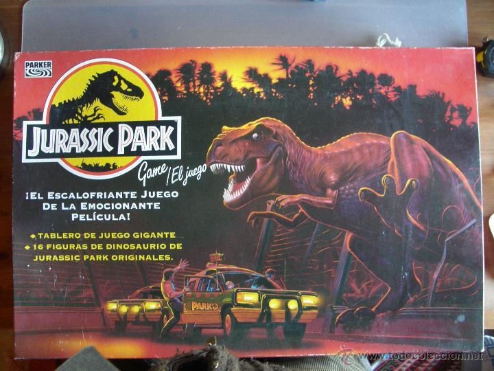 Jurassic Park De Parker Comprar Juegos De Mesa Antiguos En