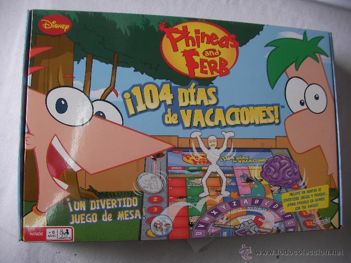 Juego De Mesa Phineas Y Ferb Nuevo Precintado Comprar Juegos De