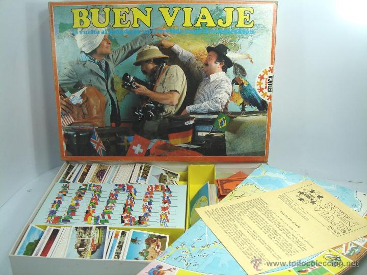 Antiguo Juego De Mesa Buen Viaje Educa Ref 41 Comprar Juegos De