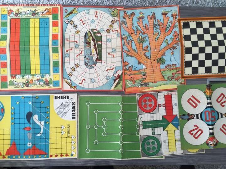 Juegos de mesa: Tablero juegos reunidos - Foto 4 - 54182766