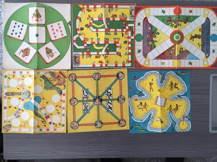 Juegos de mesa: Tablero juegos reunidos - Foto 5 - 54182766