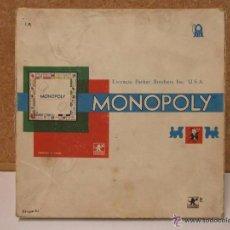 Juegos de mesa: MONOPOLY - CON LAS CALLES DE BARCELONA PARKER ------ (REF-HAMIARPUDE). Lote 54520483