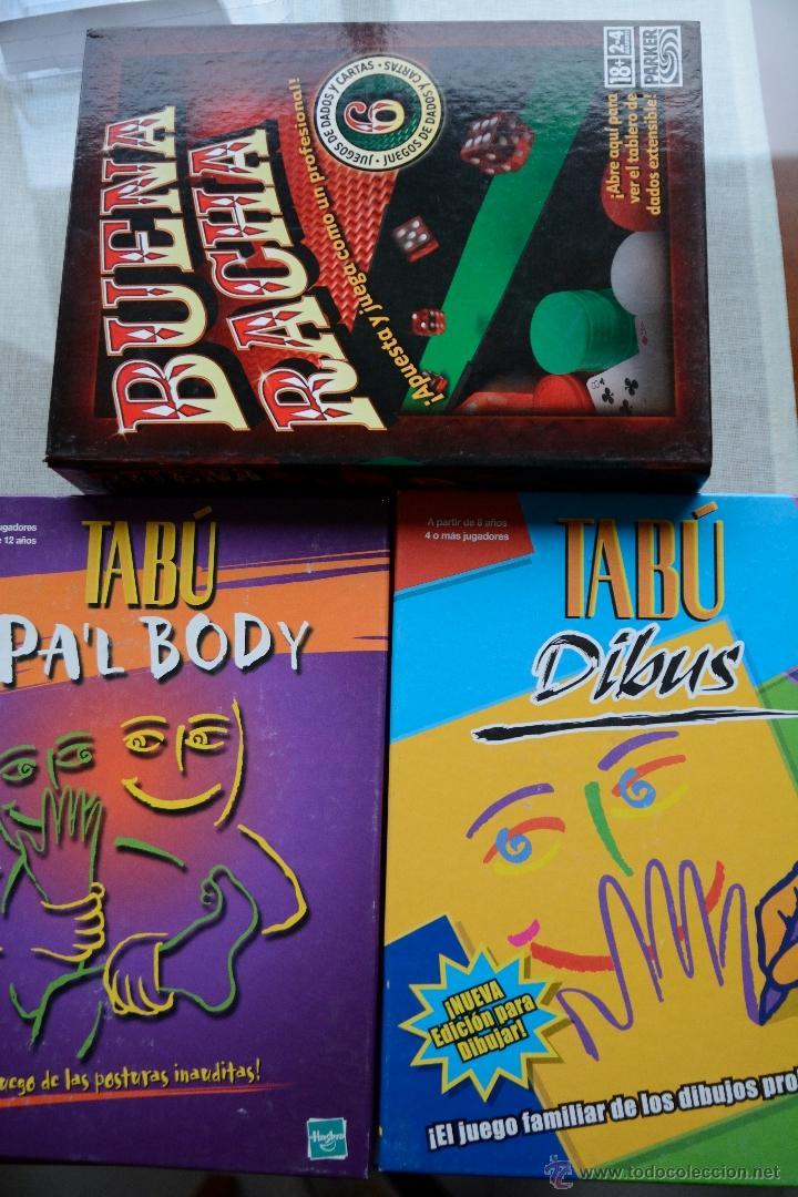 Pack Tabu Dibus Tabu Pal Body Buena Racha M Comprar Juegos De