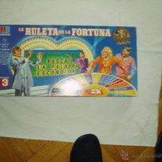 Juegos de mesa: JUEGO LA RULETA DE LA FORTUNA. Lote 54544543