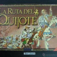 Juegos de mesa: JUEGO DE MESA LA RUTA DEL QUIJOTE DINOVA RECREATIVOS COMPLETO CON INSTRUCCIONES J125*. Lote 54553127